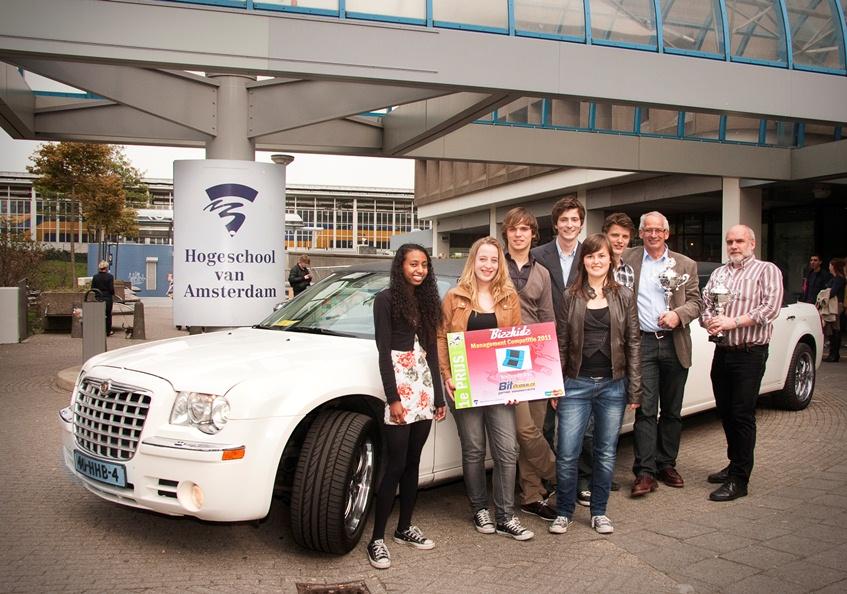 Winnaars Bizzkidz 2011 bij Limo