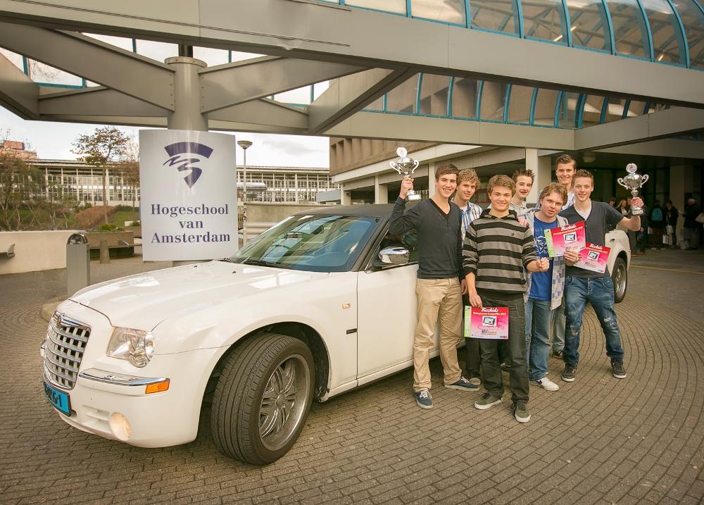 1e prijswinnaars Bizzkidz 2012