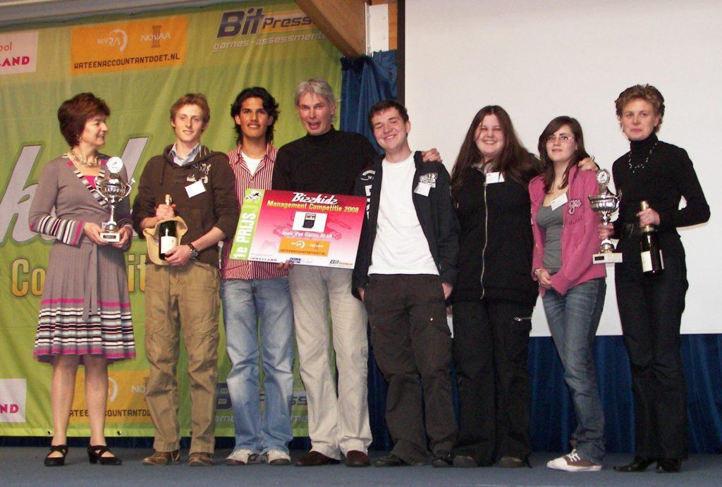1e prijswinnaars 2008