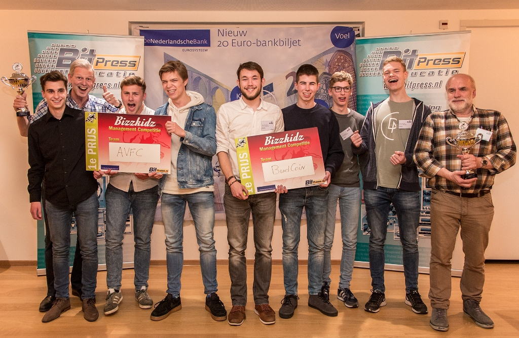 Finaledag Bizzkidz Management Competitie